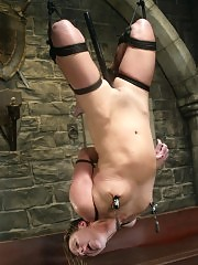 Sir C visits Waterbondage to tie up and torture Vendetta