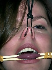 Bobbi Starr in an emotionally draining BDSM live show.